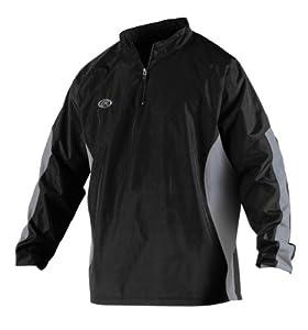 Buy Rawlings Mens Long Sleeve Wind Breaker Jacket by Rawlings