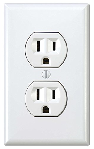 Funny Prank Instant Power Electrical Outlet Electric Socket Vinyl Sticker Decal 3 PACK by Demon Decal