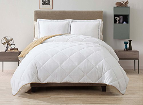 caribbean-joe-victoria-classics-cjoe-down-alternative-box-micro-reversible-comforter-set-king-gold-b
