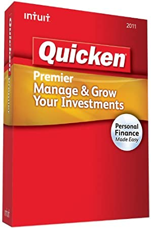 Quicken Premier 2011 - [Old Version]