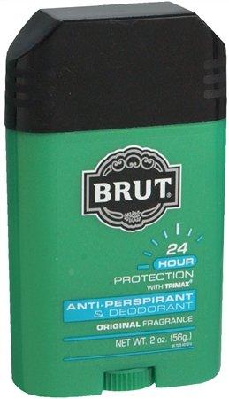 Brut Mens 24 hr Anti-Perspirant/Deodorant Solid 2 oz Original Scent-6