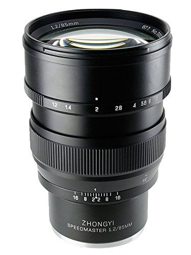 【日本国内正規品】中一光学│ZHONG YI OPTICS 単焦点レンズ SPEEDMASTER 85mm F1.2 ソニーα.Eマウント フルサイズ対応 1.2/85mm FE α7II・α7R・α7S - Mitakon