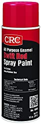 CRC All Purpose Enamel Spray Paint, 10 oz Aerosol Can, Swift Red