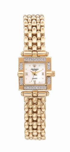 Buy Jules Jurgensen Women's Square Diamond Dress Watch #7713Y