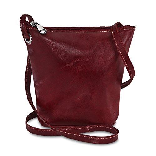 david-king-co-florentine-cremallera-superior-mini-bolsa-para-3518-rojo-rojo-3518r