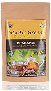 Mystic Green Royal Spice Herbal Green Tea, 100gm