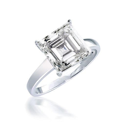 VINTAGE ASSCHER ENGAGEMENT RINGS Vintage Asscher Engagement Rings Black Me