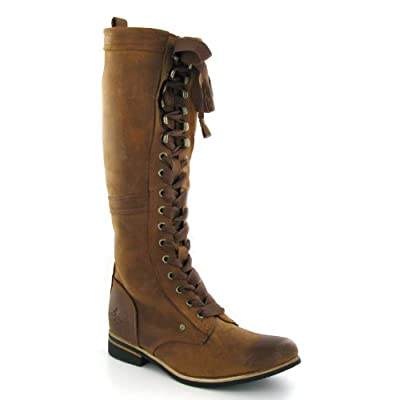j shoes empire brown leather womens boots
