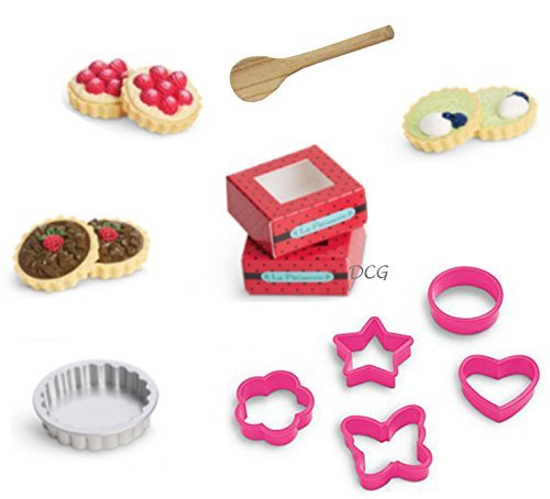 American Girl Grace French Bakery Tarts Set for 18
