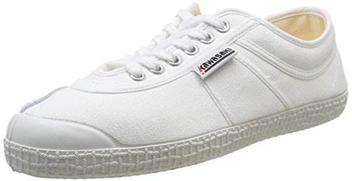 Kawasaki - Rainbow Basic, Sneakers, unisex, Bianco (White/01), 37