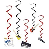 Band Whirls Party Accessory (1 count) (5/Pkg)