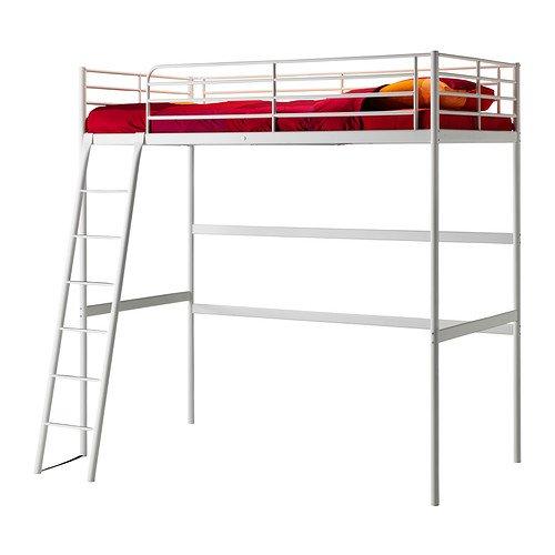 IKEA(イケア) TROMSO ロフトベッドフレーム, ホワイト (90259981)