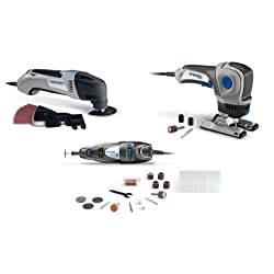 Dremel Three-Tool Combo Kit