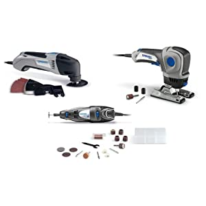 Amazon Gold Box Daily Deal: Dremel CKDR-01 Three-Tool Combo Kit $98.98