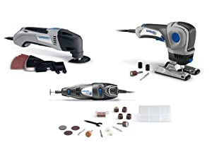 Dremel CKDR-01 Three-Tool Combo Kit