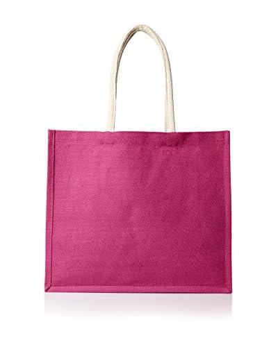 Espalma Jute Bag, Fuchsia