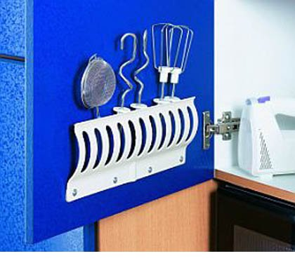 2x Küchenregal KLEMMFIX Besteckeinsatz Besteckkasten Werkzeughalter Bücherregal