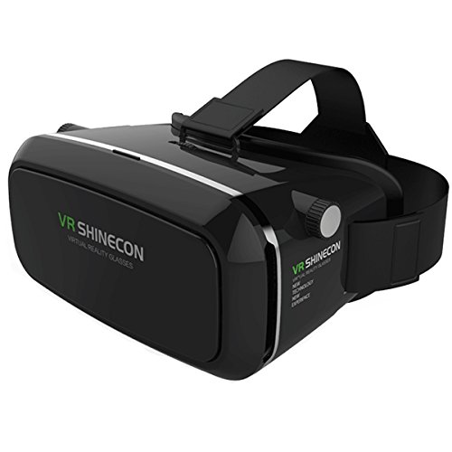 """Megadream 3D Visual Reality Video Movies Game Glasses Headphone for iPhone 6s/6 plus/6/5s/5c, Samsung Galaxy S5/S6/Note4/Note5 and Other 4.0""""-6.0"""" Cellphones"""