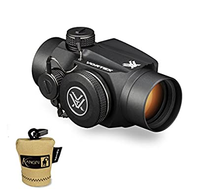 Vortex Optics Sparc II 2 MOA Red Dot Sight (SPC-402) and FREE Kangri Spudz microfiber lens cloth by Vortex Optics Kangri