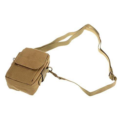 Sport Marsupio Clode® Luce Esterna Tactical Camuffamento Wear Tasche Impermeabili (Colour : Cachi)