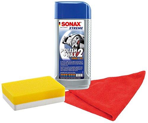 sonax-207741-xtreme-polish-wax-2-hybrid-npt-set-500ml-inkl-gratis-applikationsschwamm-und-mikrofaser