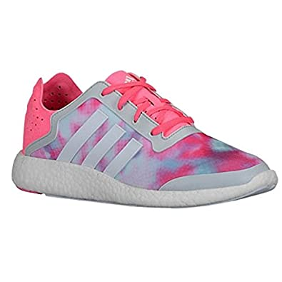 Adidas Womens Pure-Boost Pink/White Running Shoes B26503