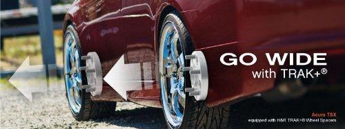 H&R 6055665 DRA TRAK+ Wheel Spacer - Pair wheel spacer fit honda trx 250r rear 1986 1989 wheel spacers