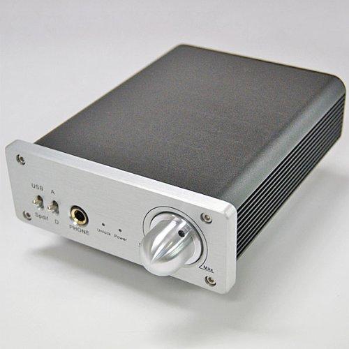 バーブラウン BURR-BROWN製 D/Aコンバーター搭載 USB ヘッドフォンアンプ Donyaダイレクト DN-USB DAC120SE