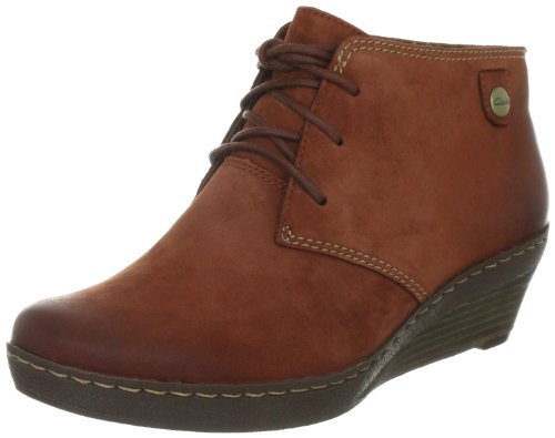 Clarks Marilyn Zoe Lace-Ups Womens - Brown (5.5 UK)