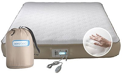 AeroBed Premier Memory Foam Inflatable Bed, Full