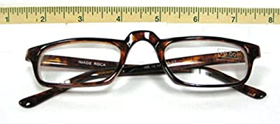 High Magnification, Unisex Readers, HALF FRAME by American Reading Glasses