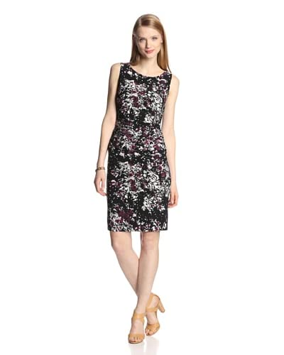 KAMALIKULTURE Women's Shirred Waist Dress