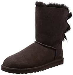 Ugg Australia Bailey Bow Womens Size 7 Brown Suede Winter Boots
