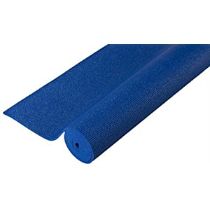 Premium Skidless Yoga Mat - Midnight Blue