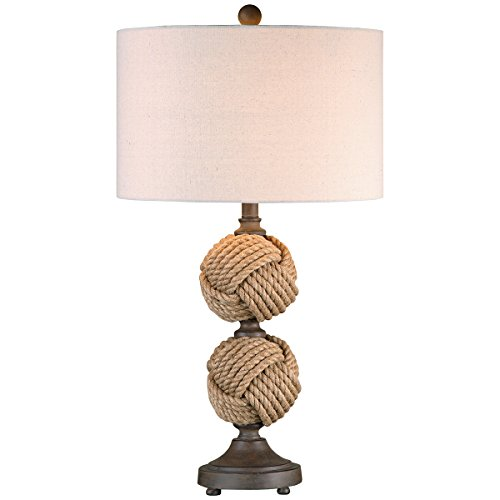 Uttermost 26615-1 Higgins Rope Spheres Table Lamp (Higgins Bulb compare prices)