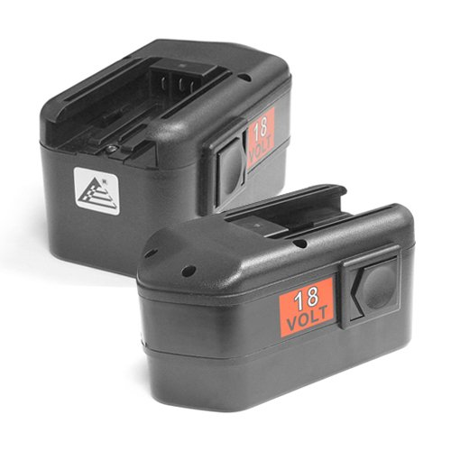 2 x ExpertPower 18v 2000mAh NiCd Battery for Milwaukee 48-11-2230 48-11-2200 48-11-2232 Chicago Pneumatic 8940158631