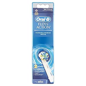 Braun Oral-B EB Precision Clean Replacement Rechargeable Toothbrush Heads The Precision Clean bristles reach deep between teeth and cover more surface, leaving your whole mouth cleaner than a regular manual toothbrush.