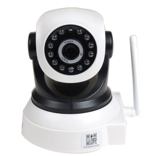 Videosecu Baby Monitor Ip Wireless Network Security Camera With Audio Pan Tilt Wi-Fi For Iphone, Ipad, Android Phone Or Pc Remote View Ipp105W Af2