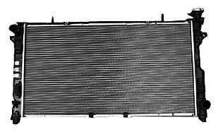 tyc-2795-dodge-chrysler-1-row-plastic-aluminum-replacement-radiator