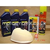 KTM 85 SX 04-09 Motocross Service/Prep Kit Air Filter Oil Coolant Plug MX5