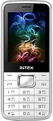 Intex Killer 3 (Dual Sim) (White & Grey)