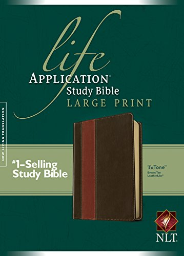 Download Life Application Study Bible NLT, Large Print, TuTone