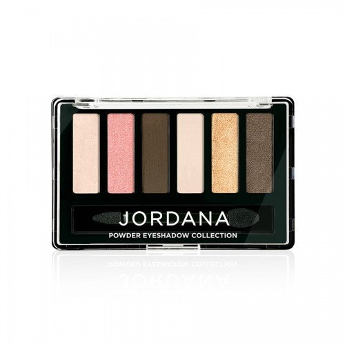 (6 Pack) JORDANA Made To Last Powder Eyeshadow Collection - Beachy Keen