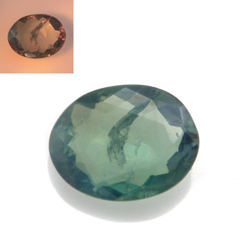Natural Color Change Alexandrite Loose Gemstone Oval Cut 0.50cts 5*4mm Stunning