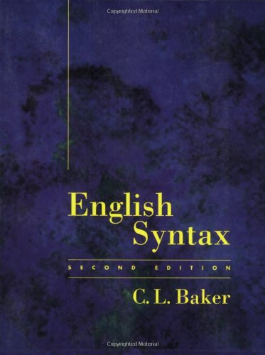 English Syntax - 2nd Edition