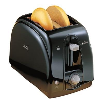 Sunbeam 3910-100 2-Slice Wide Slot Toaster, Black by Sunbeam