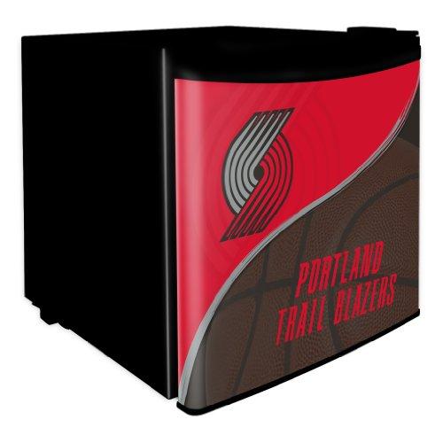Nba Portland Trail Blazers 1.7 Cubic Feet Dorm Room Refrigerator front-527116