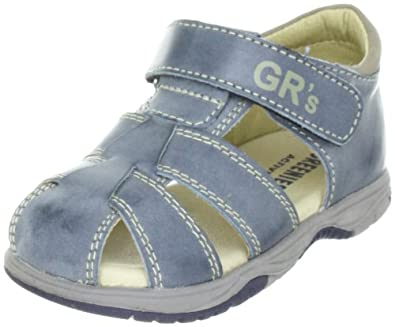 Greenies 160192, Unisex - Kinder Sandalen, Blau (blau/granit), EU 20