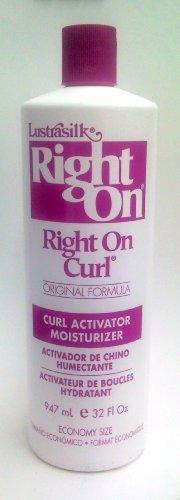 Lustrasilk Right On Curl Original Formula Curl Activator Moisturizer 32oz