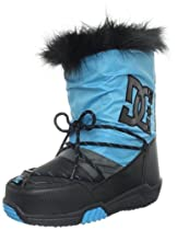 Big Sale Best Cheap Deals DC Women's Lodge Boot Sneaker,Black/Turquoise,9 M US